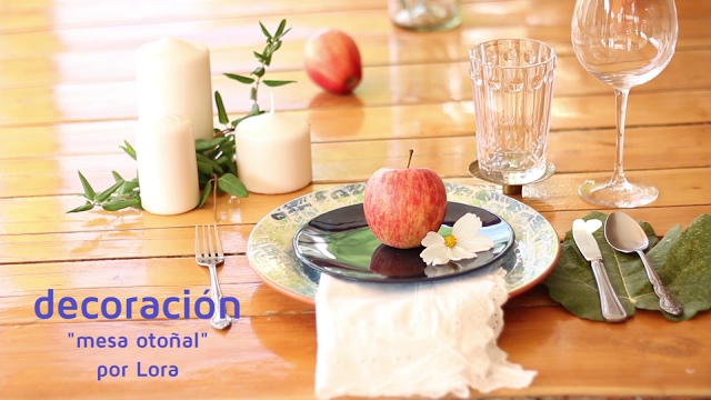 DECORANDO UNA MESA OTOÑAL – VIDEO